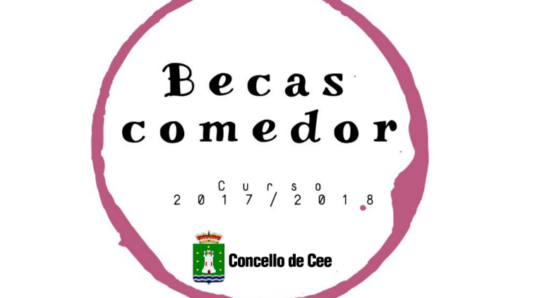 Convocatoria de becas comedor escolar curso 2017/2018 - Concello de Cee